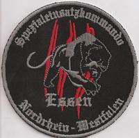 SEK Spezialeinheit ISAK Afganistan Essen Sondereinsatzkommando Patch