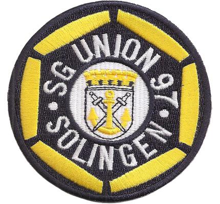 SG Union Solingen Wappen Fußball Deutschland 1FC Ohligs, Fanclub Aufnäher Abzeichen