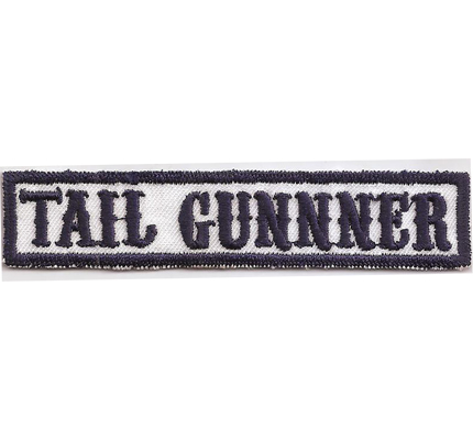SONS of ANARCHY Rangabzeichen TAIL GUNNER SAMCRO Aufnäher Patch