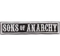SONS of ANARCHY, Biker MC Motorcycle Club Rangabzeichen Biker Aufnäher Patch Abzeichen