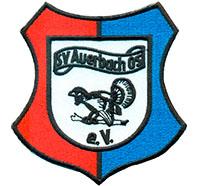 SV Auerbach Sportverein Fanclub Trikot Abzeichen Patch Aufnäher Abzeichen