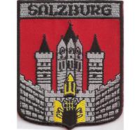 Salzburg Stadt Bezirkshauptmannschaft Gemeinde Abzeichen Aufnäher Patch