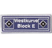 Schalke 04 Westkurve Block E Fanclub Schal Abzeichen Aufnäher Patch