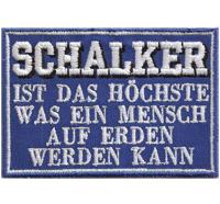 Schalker ist das höchste auf Erden Schalke 04 Nordkurve Ultras Fanclub Aufnäher