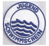 Jugend Schwimmschein Schwimmer Abzeichen Wasserrettung Rotkreuz Aufnäher