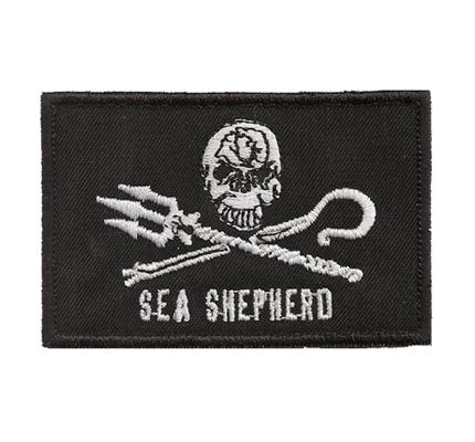 Sea Shepherd greenpeace marine wildlife conservation Aufnäher Patch Abzeichen