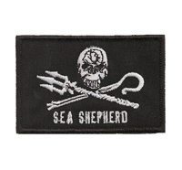 Sea Shepherd greenpeace marine wildlife conservation Aufnäher Patch Abzeichen