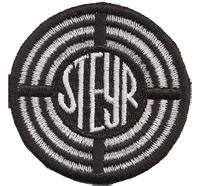 Steyr Logo Puch Magna Traktor Aufnäher Aufbügler Abzeichen Patch
