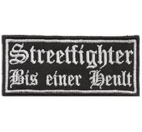 STREETFIGTHER, Bis Einer Heult, Racing, Suzuki, Aufnäher, Patch, Abzeichen
