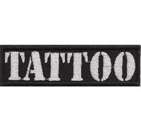 TATTOO Tribal Vorlage Biker Rocker Heavy Metal Patch Aufnäher Abzeichen Badge
