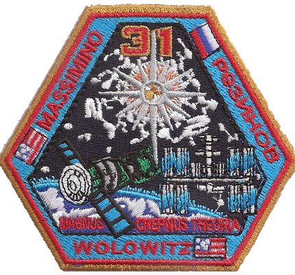 TBBT Nasa Wolowitz Space Mission 31 Magnus crepnus theuria Patch Aufnäher