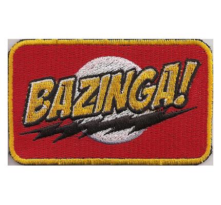 TBBT The big bang theory BAZINGA Sheldon Cooper Season Aufnäher Patch