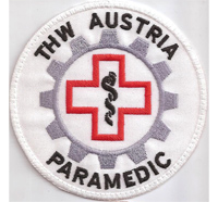 THW Austria Technisches Hilfswerk Paramedic RTH OERK Emergancy Aufnäher
