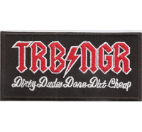 TRBNGR Turbo Negro Dirty Dudes Done Dirt Cheap Heavy Metal Aufnäher Patch
