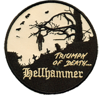 TRIUMPH of DEATH Hellhammer Heavy Metal Thrash Biker Rocker Patch Aufnäher