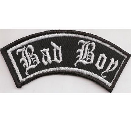 BAD BOY  BIKER PATCH