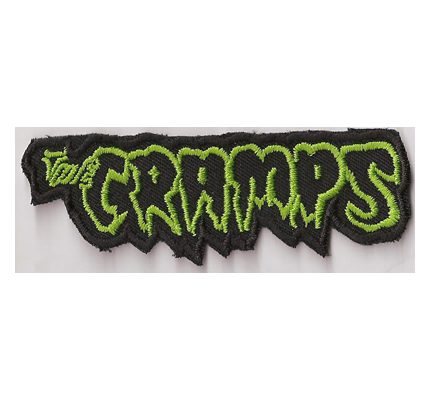 The Cramps Rock`n Roll Album Cover Garage Punks Psychobili Aufnäher
