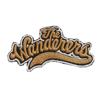 The Wanders rock roll band Album Vintage Rockerbilly Aufnäher Patch