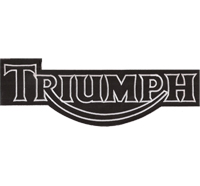 Triumph XXL BACKPATCH Motorrad Motorcycle Speedtriple Superbike Aufnäher