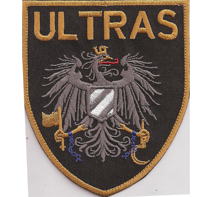 ULTRAS Anti Polizei Österreich, Funpatch, Staatsadler Hooligans Aufnäher Abzeichen