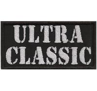 ULTRA CLASSIC old school Oldtimer Biker Motorcycle Aufnäher Patch Abzeichen