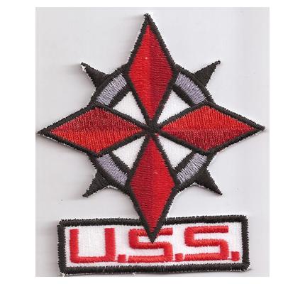 USS Resident Evil Response Umbrella  Stars Police PS3 Aufnäher Kostüm