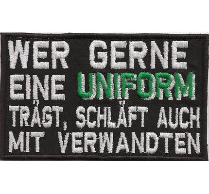 Anti Polizei Uniform Biker Rocker Fussball Ultras Fanclub Patch Aufnäher Abzeichen