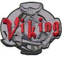 VIKING Odins Krieger Wikinger Thor Hammer Nordmann Biker Patch Aufnäher