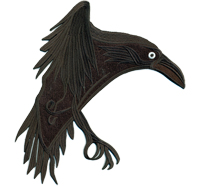 VIKING the Crow Wikinger Serie Season Uniform Kostüm Biker Patch Aufnäher