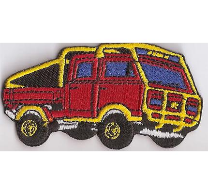 VW Bus T3 Offroad Camper Paris Dakar Racing Aufnäher Patch Abzeichen Aufbügler