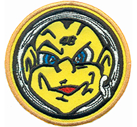 Valentino rossi 46 the doctor motogp Yellow Smile Patch Aufnäher Abzeichen