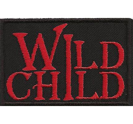 WILD CHILD, die Wilden Kerle, Biker Rocker Billy the Kid Patch Aufnäher Kinder Aufbügler
