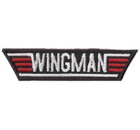WINGMAN, Top Gun, Flirt Coach, Aufreisser, Halli Galli, Aufnäher, Patch, Abzeich