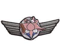 Biker Wing Werner Motorrad Pilot Flügel Rocker Chopper  Aufnäher Patch Abzeichen