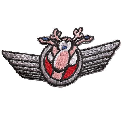 Wing Werner Biker Pilot Flügel Rocker Streetfighter Aufnäher Patch Abzeichen