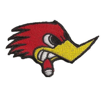 Woody Woodpecker Rockerbilly Psychobilly Rednecks Aufnäher Patch