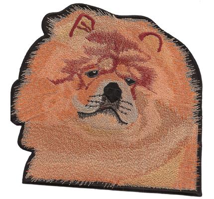 Zwergspitz Hund Leinen Outdoor Jacken Backpatch Aufnäher Aufbügler Patch