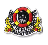 Berufsfeuerwehr Österreich Austria Abzeichen SOKO Rettung Aufnäher