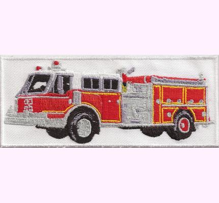FIRETRUCK Volunteer, Fire, Department, Rescue, Modell,Feuerwehrauto, Aufbügler