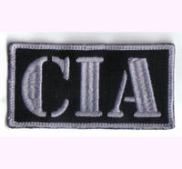 CIA Anonymous, Hacker, CTU, Badge, FBI, KGB, Ausweis, Abzeichen Aufnäher