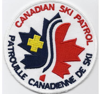 Canadian Ski Patrol Team Kanada Patrouille Aufnäher Patch Abzeichen