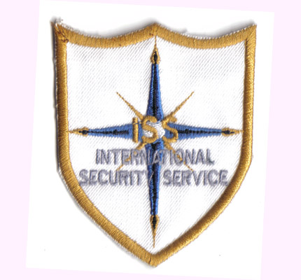 International, Hollywood, Security, Service SOKO Wachdienst Abzeichen Aufnäher