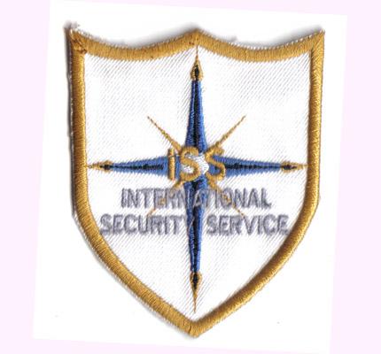 International, Hollywood, Security, Service SOKO Wachdienst Abzeichen Aufnäher