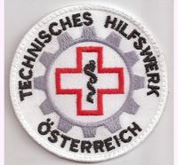 Technisches Hilfswerk Österreich , THW, Homeland, Security, Aufnäher Abzeichen