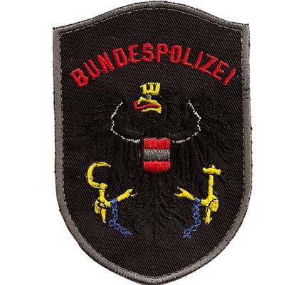 ALT Bundespolizei Einsatzeinheit Österreichische Polizei MEK Aufnäher Abzeichen