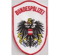 Bundespolizei Rot/weiss Österreichische Polizei Austria MEK Aufnäher Abzeichen