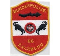 Bundespolizei EG Salzburg Österreich Uniform Polizei Aufnäher Abzeichen