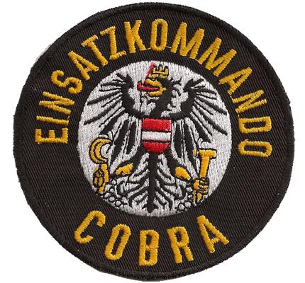 COBRA EKC MEK Einsatzkommando Österreich Polizei  Aufnäher Abzeichen 4