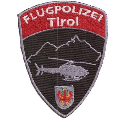 Flugpolizei Tirol Airsupport Lufteinsatzkommando Polizei Helicopter Aufnäher