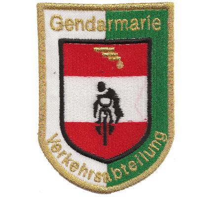 Gendarmerie Verkehrsabteilung Einsatzkommando Österreichische Polizei Aufnäher A